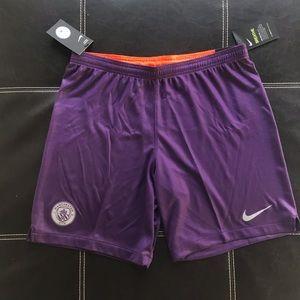 Nike Manchester city soccer shorts